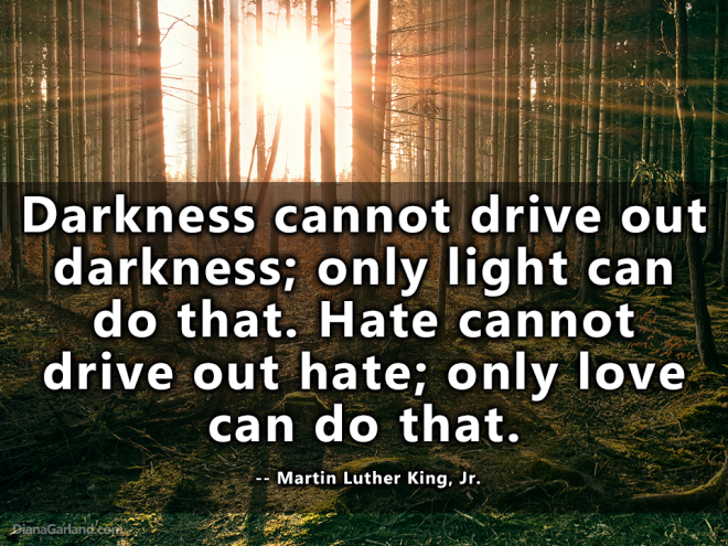 mlk quote on darkness and light